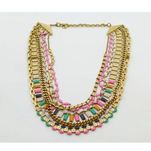 Stella & Dot 6 Link Statement Necklace